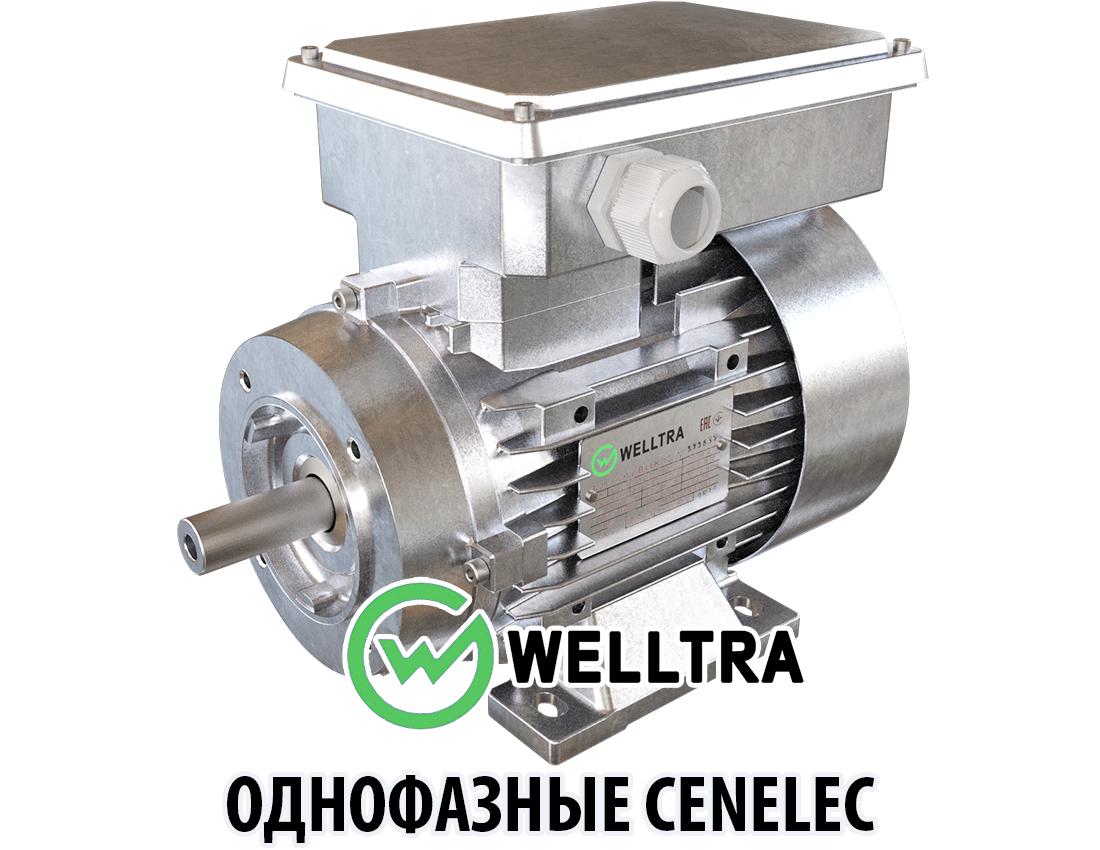 Однофазные электродвигатели Cenelec